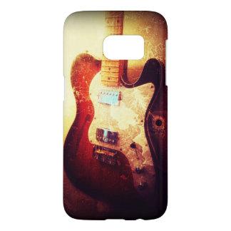 Rockmusik-Telefonkasten der E-Gitarre flippiger