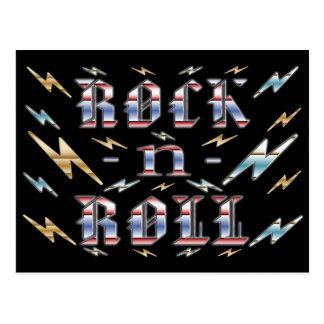 Rock'n'Roll Postkarte