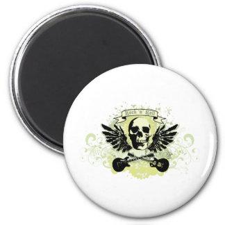 RocknRoll Runder Magnet 5,1 Cm