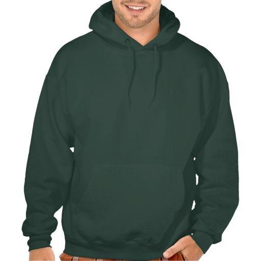 Rock'n'Roll-Schädel mit FlügelHoodie Kapuzensweater