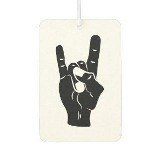 Rock'n'Roll-Teufel-Hörner Autolufterfrischer
