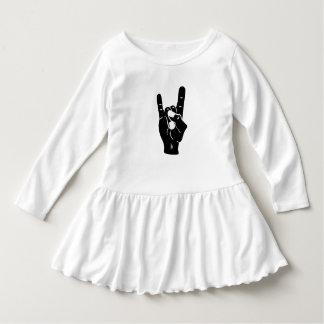 Rock'n'Roll-Teufel-Hörner Kleid
