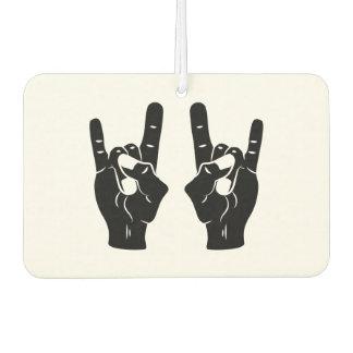 Rock'n'Roll-Teufel-Hörner Lufterfrischer