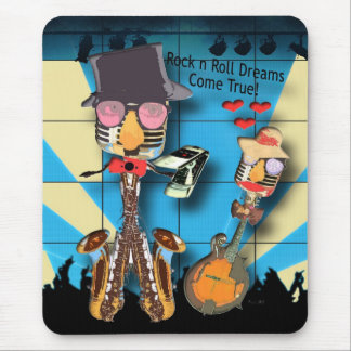 Rock'n'Roll träumt Mousepad