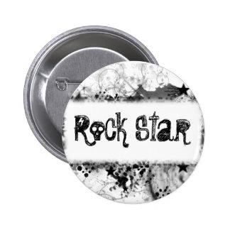 Rockstar-Art Runder Button 5,1 Cm