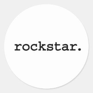 rockstar. stickers