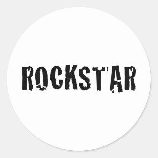 rockstar aufkleber