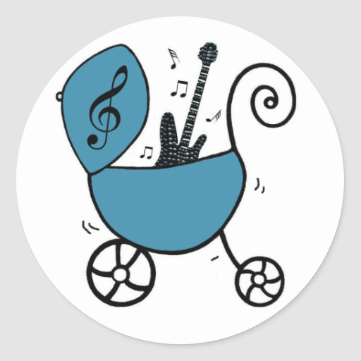 Rockstar-Baby-Aufkleber