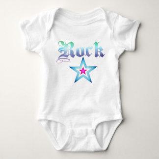 Rockstar babygrow shirts