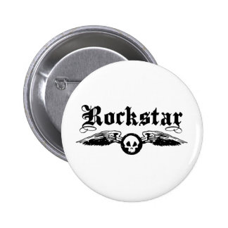 Rockstar Anstecknadelbuttons