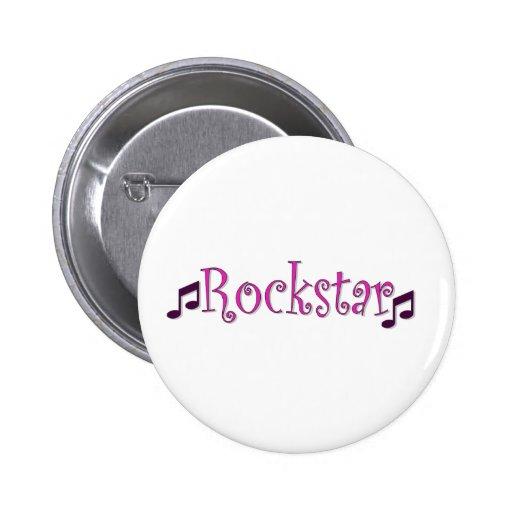 Rockstar Anstecknadel