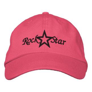 Rockstar-Damen stickten Hut Baseballkappe
