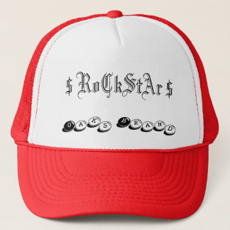$ RoCkStAr $, Eichen-Marke Truckerkappe