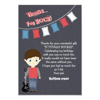 Rockstar-Geburtstags-Junge Karte