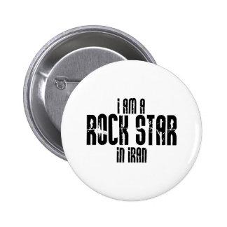 Rockstar im Iran Anstecknadelbutton