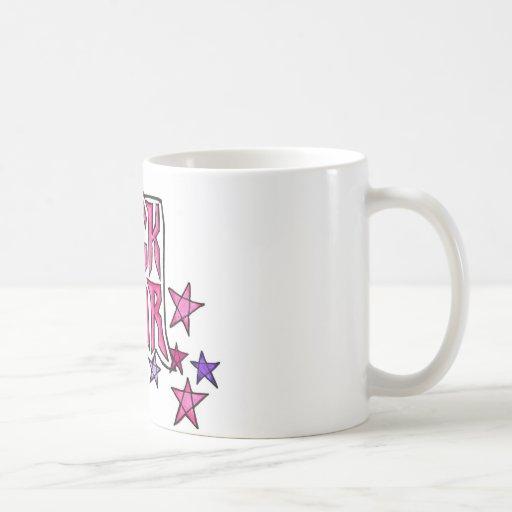 RockStar im Rosa Tee Tasse