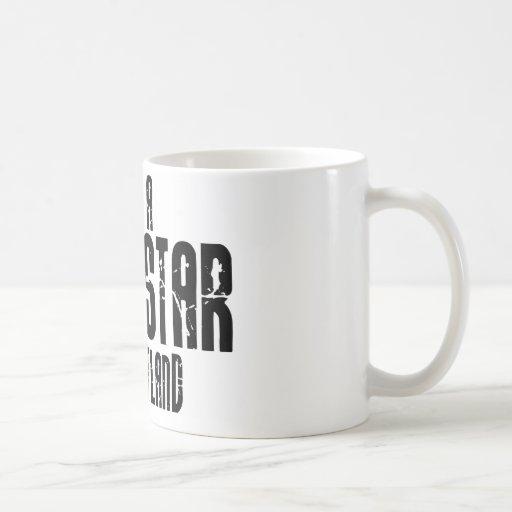Rockstar in Schottland Kaffee Tasse