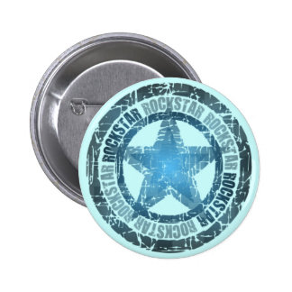 Rockstar - Knopf Runder Button 5,7 Cm
