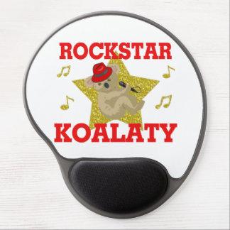 Rockstar Koalaty Gesang-Party-Tier Gel Mousepad