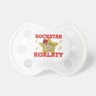 Rockstar Koalaty Gesang-Party-Tier Schnuller