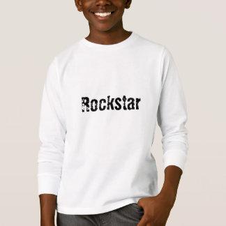 Rockstar langes Hülsen-T-Stück T-Shirt