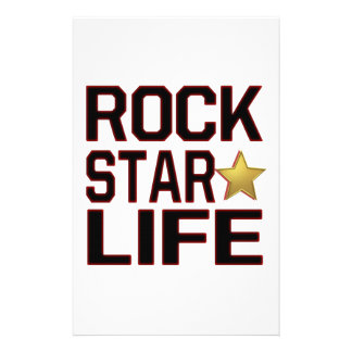 Rockstar Leben Individuelles Druckpapier