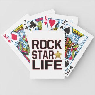 Rockstar Leben Pokerkarten