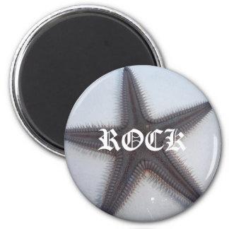 Rockstar Runder Magnet 5,1 Cm