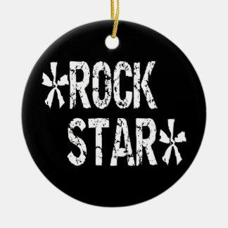 Rockstar Weihnachtsbaum Ornamente