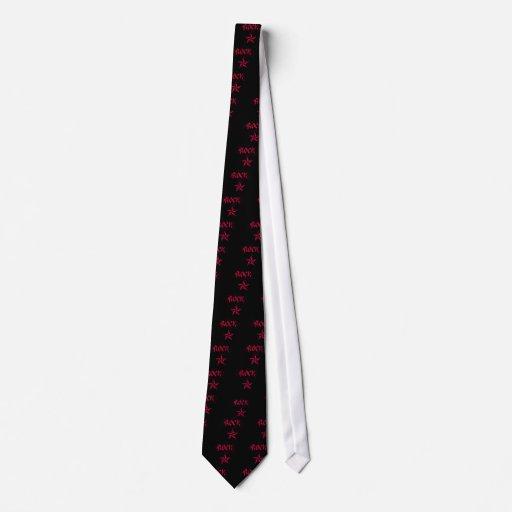 Rockstar Personalisierte Krawatten