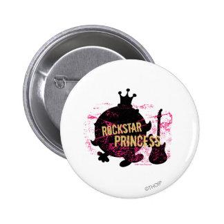 Rockstar Prinzessin Runder Button 5,7 Cm