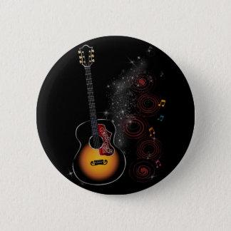 Rockstar Runder Button 5,1 Cm