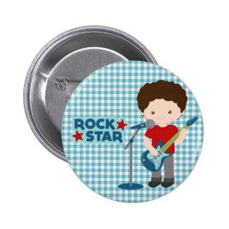 Rockstar Runder Button 5,7 Cm