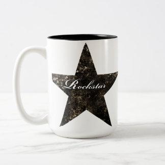 Rockstar Tasse (Grungebeschaffenheiten)