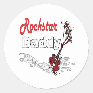 Rockstar Vater Aufkleber