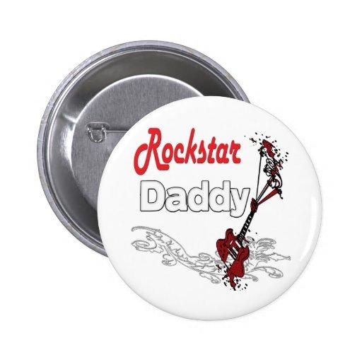 Rockstar Vater Button