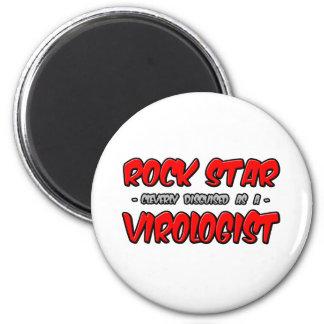 Rockstar-… Virologe Runder Magnet 5,1 Cm