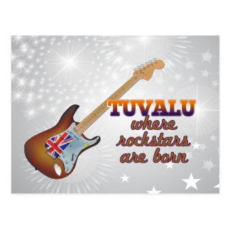 Rockstars sind in Tuvalu geboren Postkarte