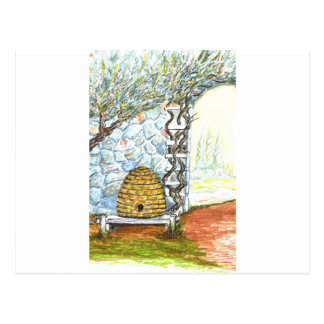 rockwall Ernte Postkarte