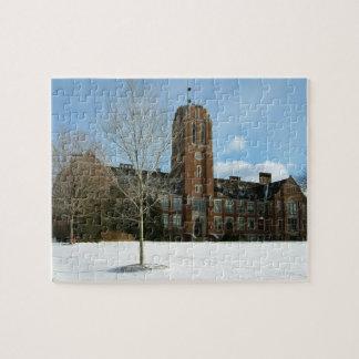 Rockwell im Winter an der Waldungs-Stadt-Uni Puzzle
