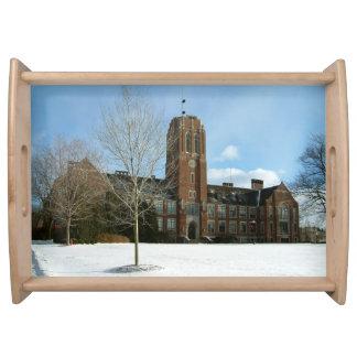 Rockwell im Winter an der Waldungs-Stadt-Uni Tablett