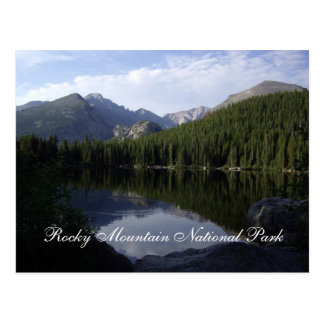 Rocky Mountain Nationalpark Postkarte