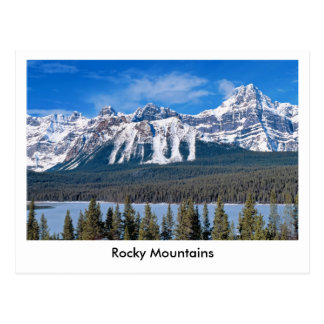 Rocky Mountains Postkarte