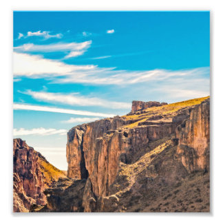 Rocky Mountainspatagonia-Landschaft - Santa Cruz - Fotodruck