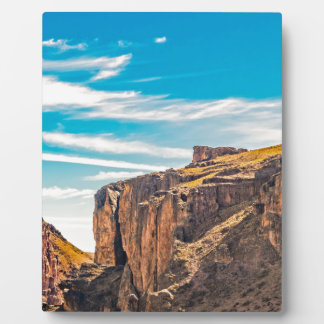 Rocky Mountainspatagonia-Landschaft - Santa Cruz - Fotoplatte