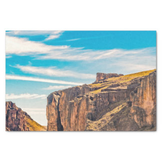 Rocky Mountainspatagonia-Landschaft - Santa Cruz - Seidenpapier