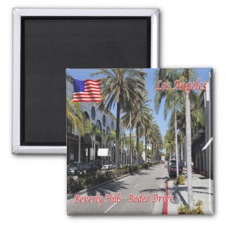 Rodeo-Antrieb US USA Los Angeles Beverly Hills Quadratischer Magnet
