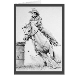 Rodeo-Dame Karte