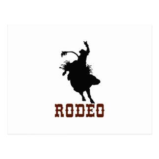 Rodeo Postkarte