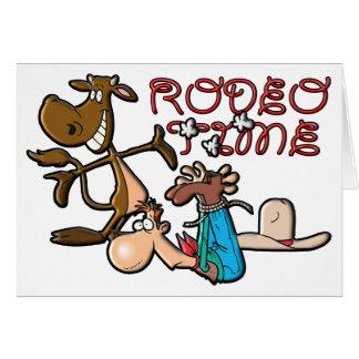 Rodeo-Zeit Karte